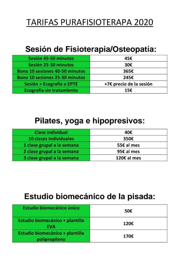 precio barato fisioterapia madrid barrio salamanca centro